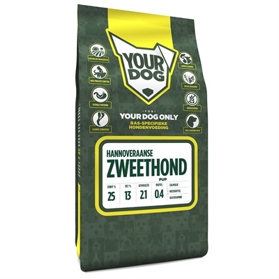 YOURDOG HANNOVERAANSE ZWEETHOND PUP 3 KG