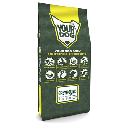 YOURDOG GREYHOUND PUP 12 KG