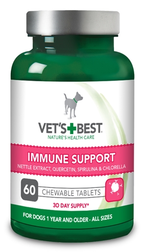 VETS BEST IMMUNE SUPPORT HOND 60 TBL