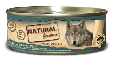 NATURAL GREATNESS TUNA FILLET / SARDINE 156 GR