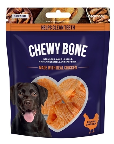 CHEWY BONE MEDIUM KIP 3 ST 135 GR
