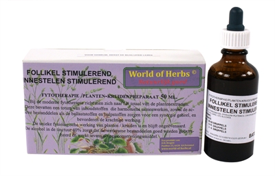 WORLD OF HERBS FYTOTHERAPIE FOLLIKEL STIMULEREND 50 ML