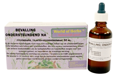 WORLD OF HERBS FYTOTHERAPIE NA DE BEVALLING 50 ML