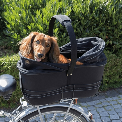 TRIXIE FIETSMAND BAGAGE DRAGER BREED ZWART 60X29X49 CM