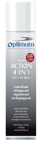 OPTIMUM ONDERHOUDSSPRAY TONDEUSES 4 IN 1 300 ML