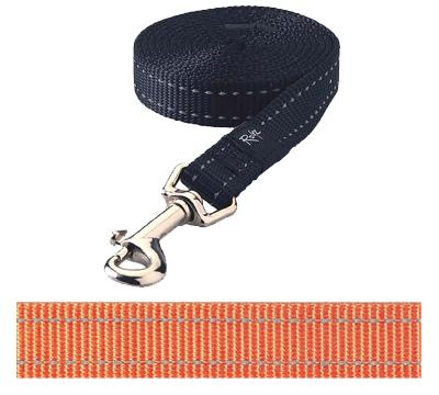 ROGZ FOR DOGS SNAKE LIJN ORANJE 16 MMX1
