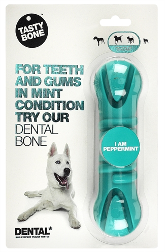 TASTY DENTAL BONE PEPPERMINT 17 X 5 CM