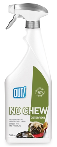 OUT! NO CHEW DETERRENT SPRAY 500 ML