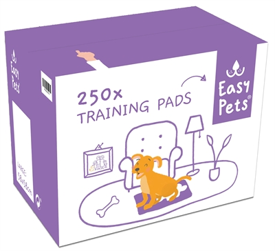 EASYPETS PUPPY TRAINING PADS 60X60 CM 250 ST