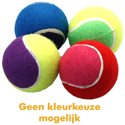 HAPPY PET TENNISBAL ASSORTI 4 STUKS 6
