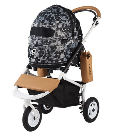 AIRBUGGY HONDENBUGGY DOME2 SM MET REM FLOWER CAMO 53X31X52 CM / 96X53