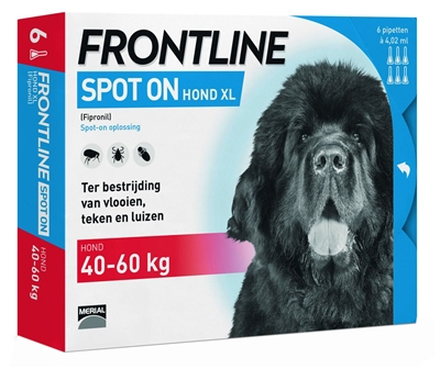 FRONTLINE HOND SPOT ON XL 6 PIPET
