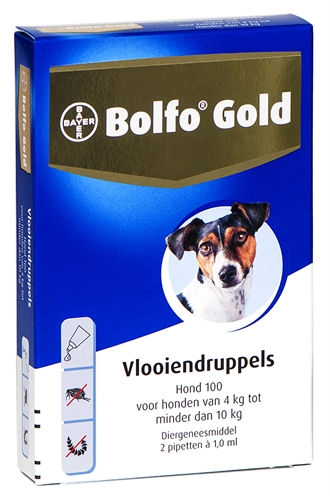 BOLFO GOLD HOND VLOOIENDRUPPELS 100 2 PIPET