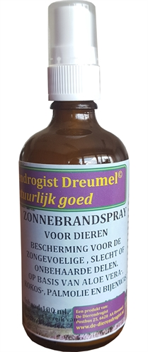 DIERENDROGIST ZONNEBRANDSPRAY 100 ML