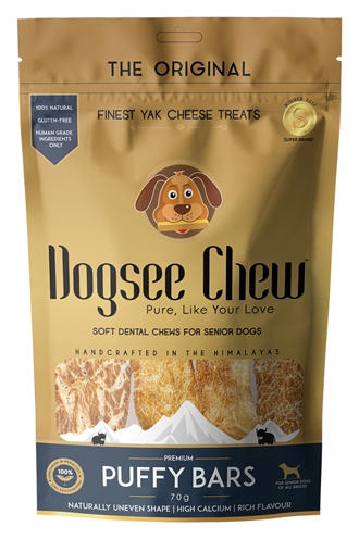 DOGSEE CHEW PUFFY BARS 70 GR
