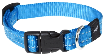 ROGZ FOR DOGS SNAKE HALSBAND TURQUOISE 16 MMX26-40 CM