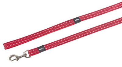 ROGZ FOR DOGS SNAKE LONG LIJN ROOD 16 MMX1